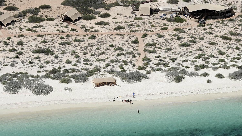 EZE - Turismo Verde: Sal Salis Ningaloo Reef